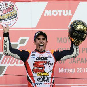 Marc Márquez MotoGP Japó Campió Món Efe