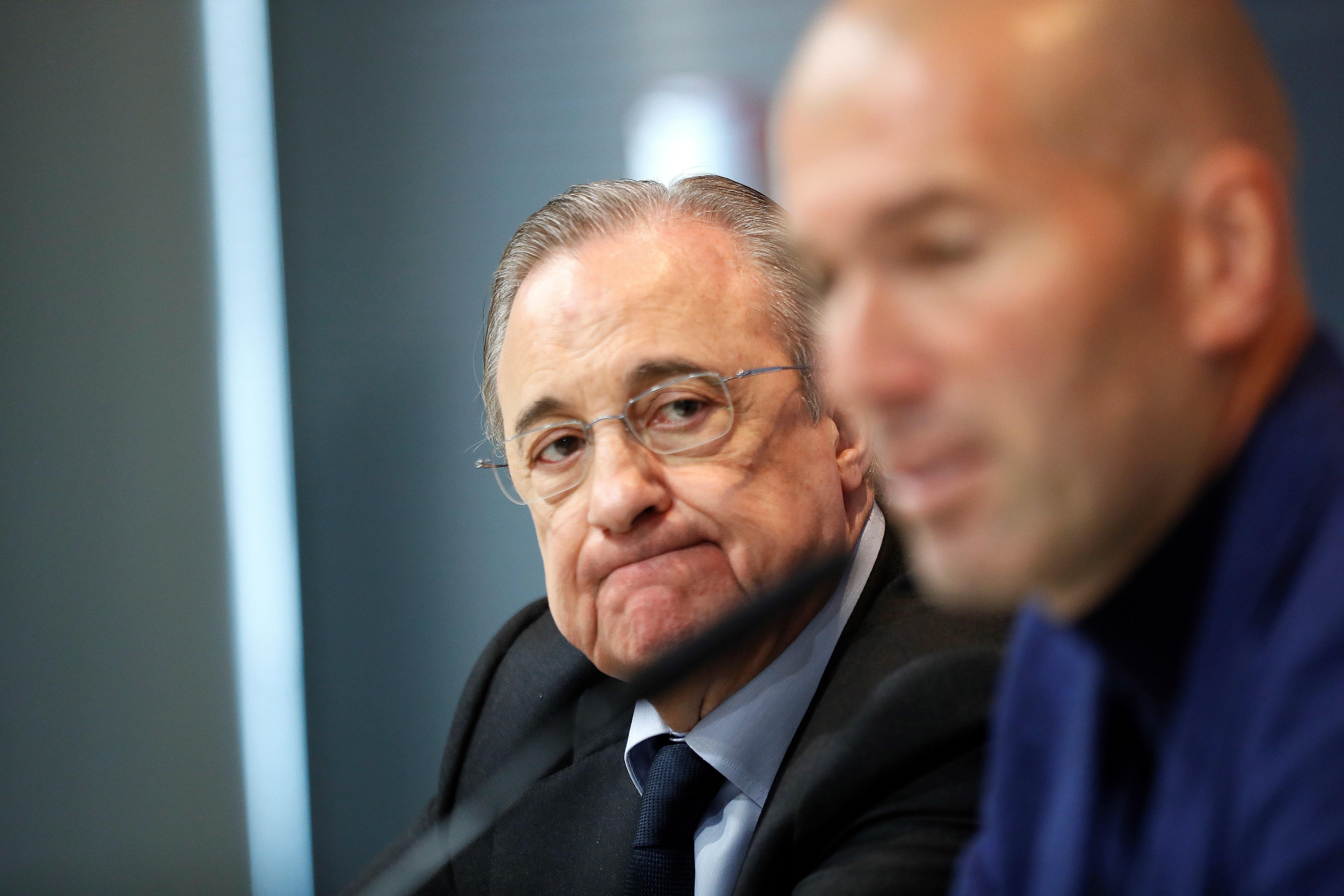 Florentino Zidane   EFE