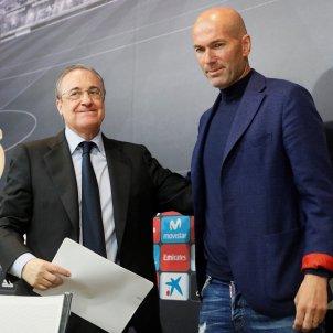 Zidane Florenitno Pérez comiat Madrid   EFE