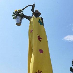 estatua argentona Eudald Calvo