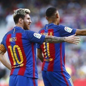 Leo Messi Neymar Barça Deportivo Efe