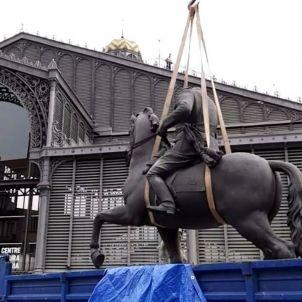 Franco born Biennal Venècia estàtues Sergi Alcázar
