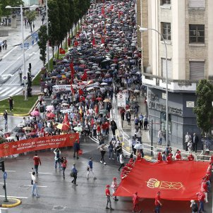 Pamplona Manifestació contra euskera 20180602