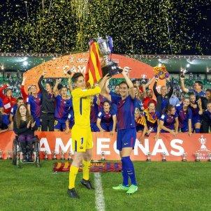 Barça senyera Copa de la Reina Efe
