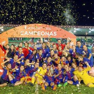 Barça Femení Copa de la Reina celebració Efe