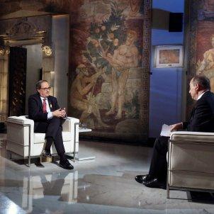 Torra Sanchis entrevista TV3 - Efe