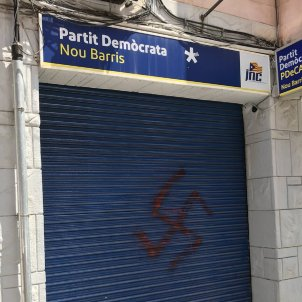 nou barris nazi 2 @PDECATNouBarris