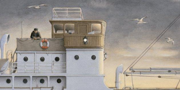 Roberto Innocenti, 'Mi barco'. Kalandraka, 38 pp., 20 €.
