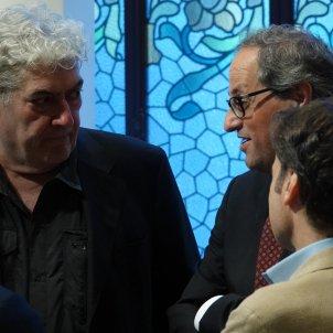 Quim Monzó i Quim Torra Roberto Lázaro