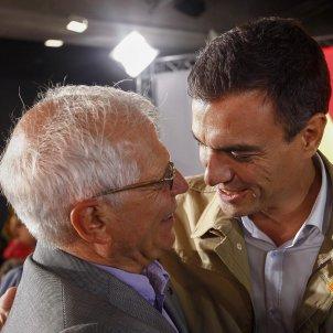 Josep Borrell Pedro Sánchez - EFE