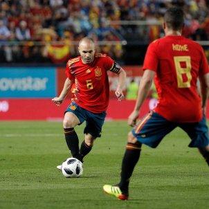 Andrés Iniesta selecció espanyola Mundial Rússia 2018 Efe