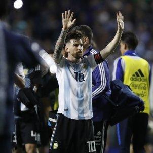 Leo Messi Argentina gol celebració   EFE
