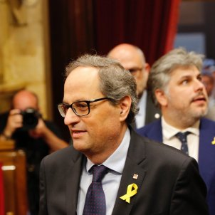 Torra ple parlament Sergi Alcàzar