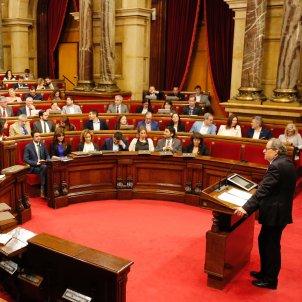 Torra hemicicle ple parlament Sergi Alcàzar