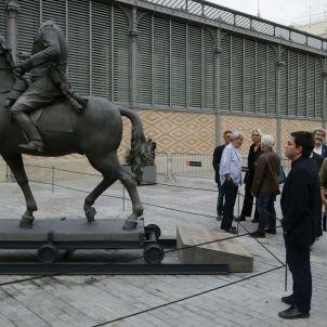 Barcelona monuments franquistes Born. Sergi Alcàzar