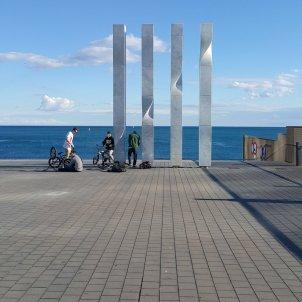 infocat català Senyera de Ricard Bofill friviere wikimedia