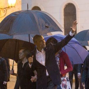 Obama passeja pels carrers de L'Havana / EFE