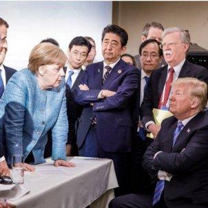 Angela Merkel Trump
