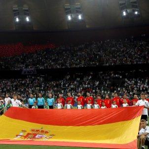 Selecció espanyola bandera futbol Efe