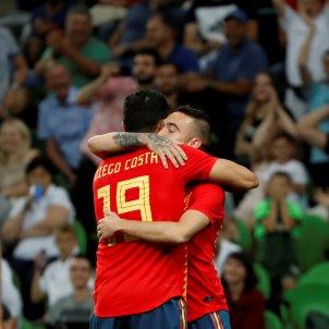 Iago Aspas Diego Costa selecció espanyola Efe