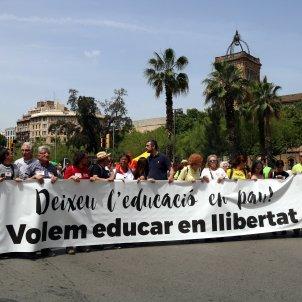manifestacio defensa escola catalana acn