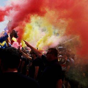 salutació nazi manifestació TV3 Carles Palacio