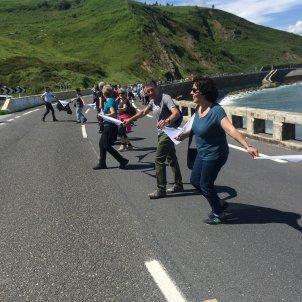 cadena humana basca dret decidir europa press