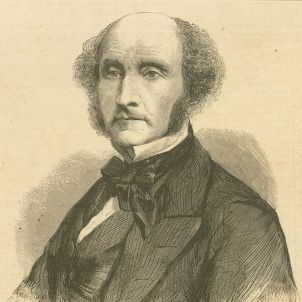 John Stuart Mill, M.P, 1861 (NYPL Emmett Collection)