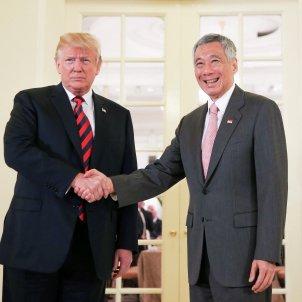 Trump en Singapur EFE