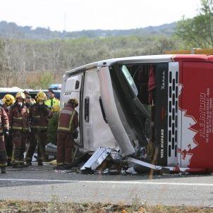 Accident a Freginals / Efe