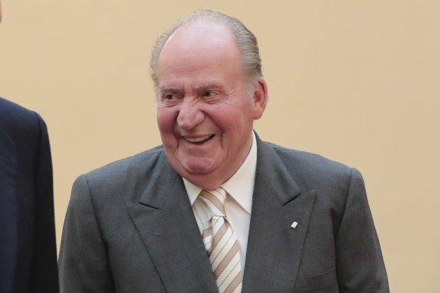 rey Juan Carlos ríe GTRES