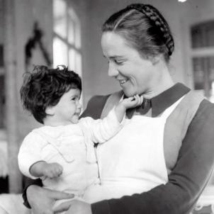 Neix Elisabeth Eidenbenz, fundadora de la Maternitat d'Elna. Font Centre Culturel Kulturfabrik