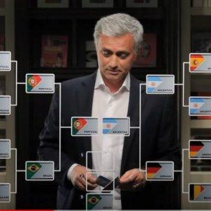 Jose Mourinho previsió Mundial Russia