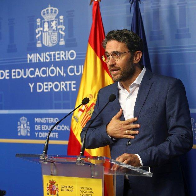 Maxim Huerta dimissio.EFE