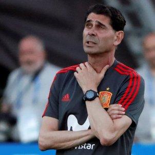 Fernando Hierro entrenament selecció espanyola   EFE