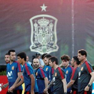 Selecció espanyola Mundial Rússia entrenament   EFE
