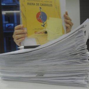 signatures Riera de Cassoles @RieraDeCassoles