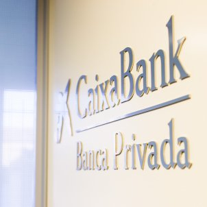 panell cartell banca privada caixaBank