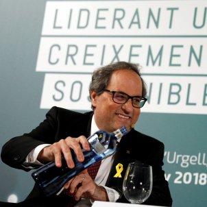 Quim Torra La Seu d'Urgell EFE