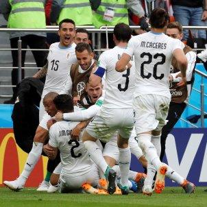 Gimenez Uruguai Mundial   EFE