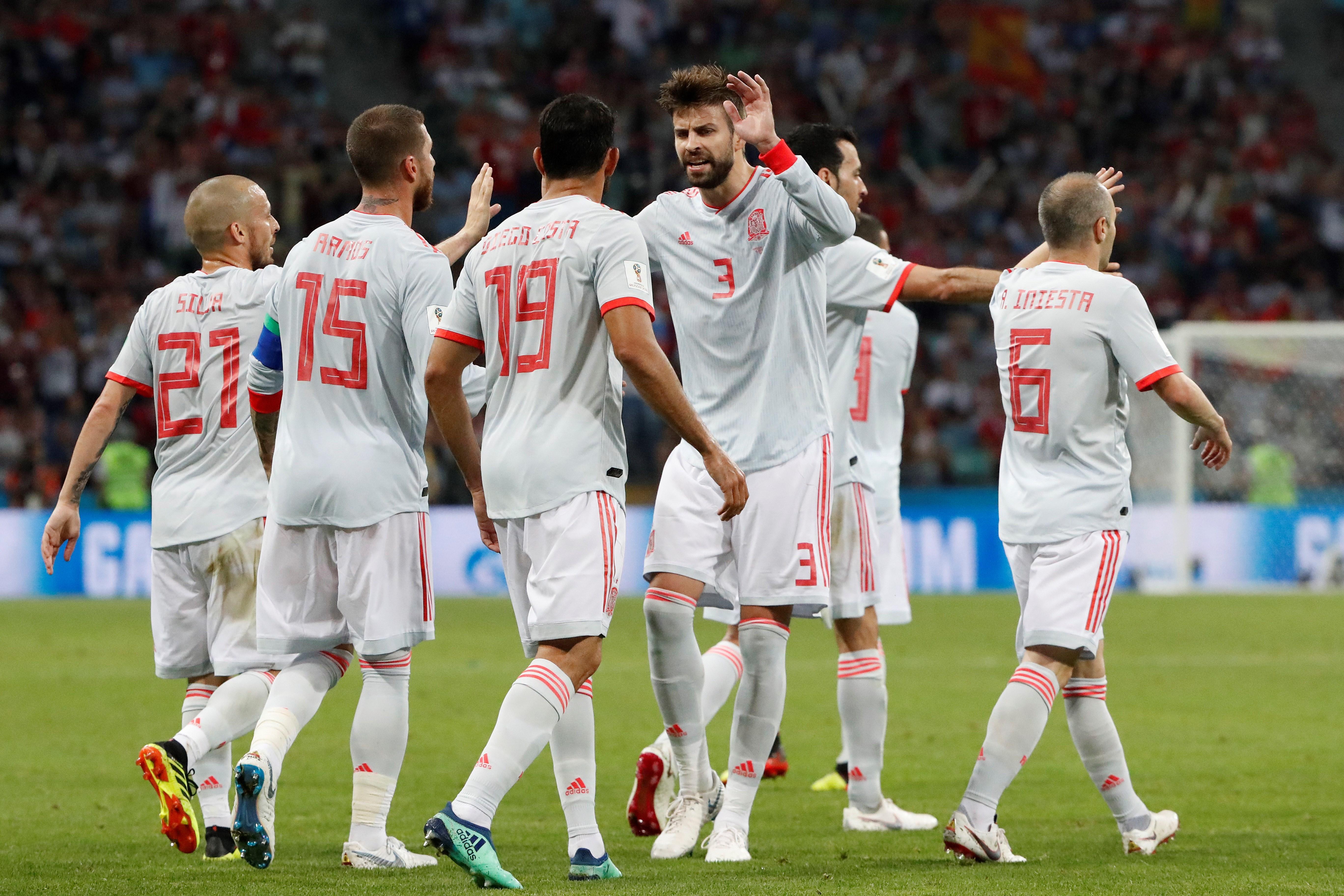 Gol Diego Costa Espanya Portugal   EFE