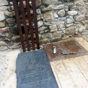 Monument Lluís Companys Besalú   ACN