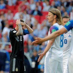 Leo Messi Argentina Islandia Mundial   EFE
