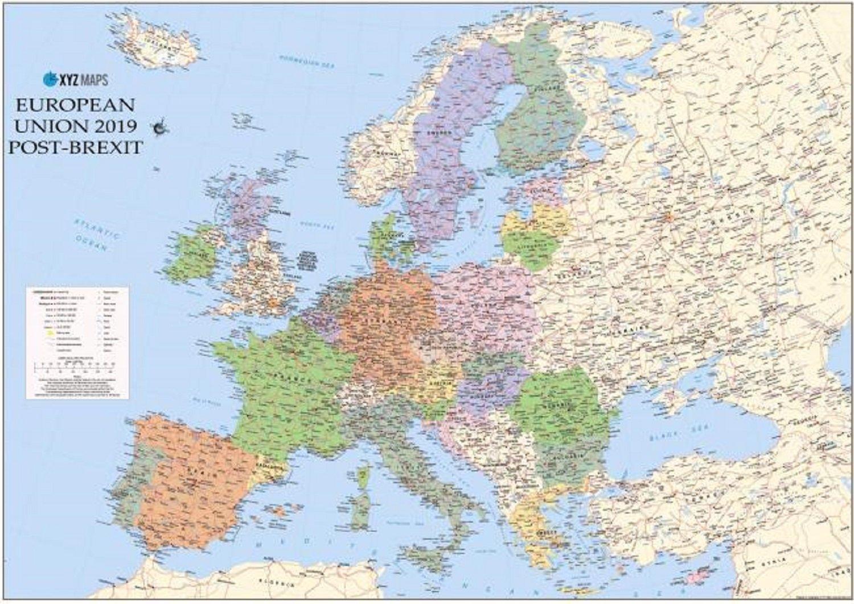 The National Publica Un Mapa De Europa Con Catalunya Y Escocia