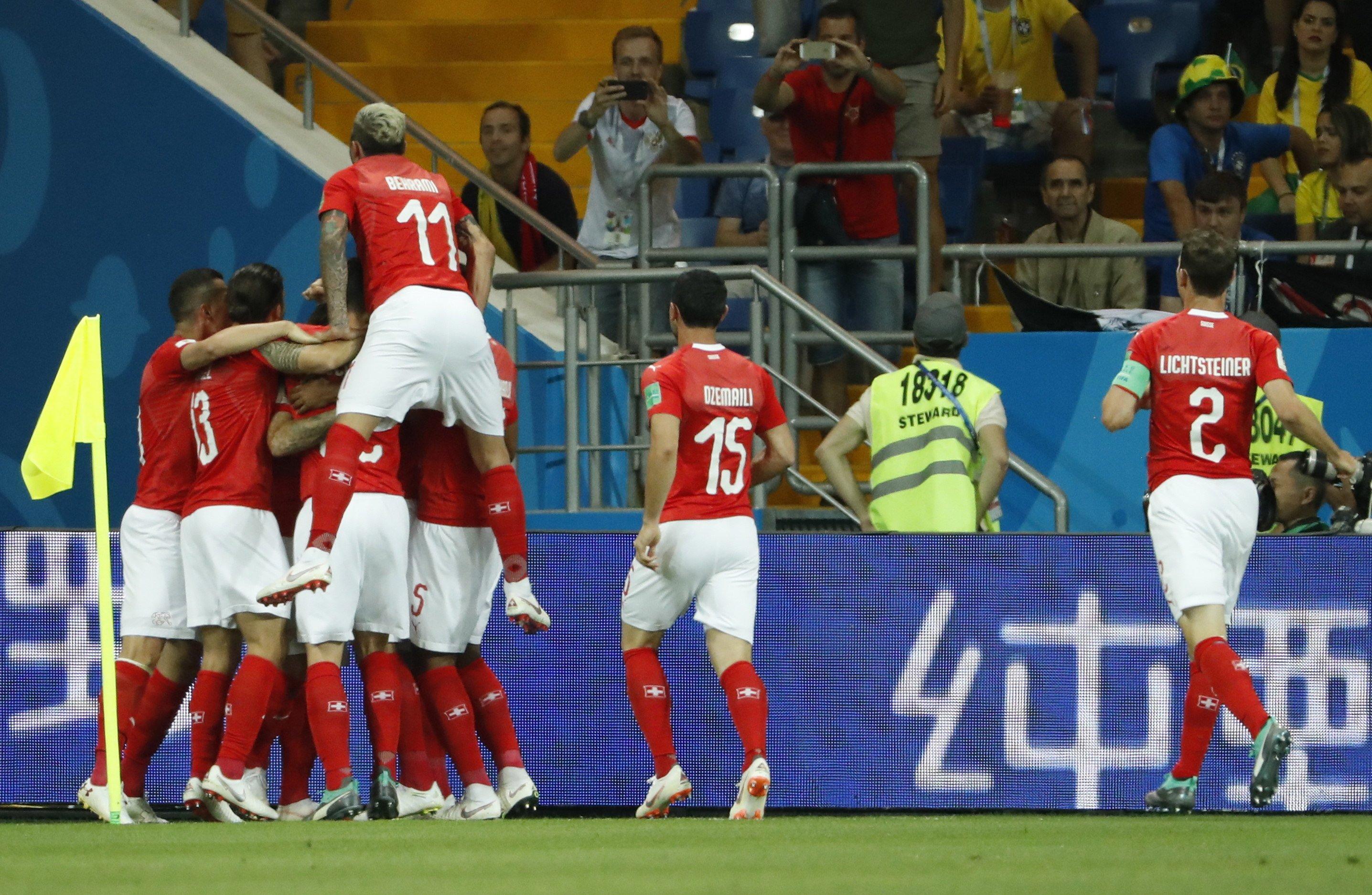 Suissa gol Brasil Mundial Russia   EFE