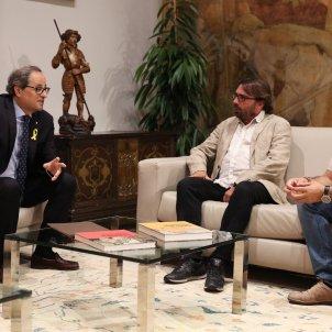 Torra amb Javier Pacheco i Camil Ros 2