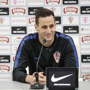 Kalinic Croacia Roda de premsa Mundial Russia   EFE