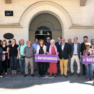 BADALONA minut de silenci crim masclista Europa Press