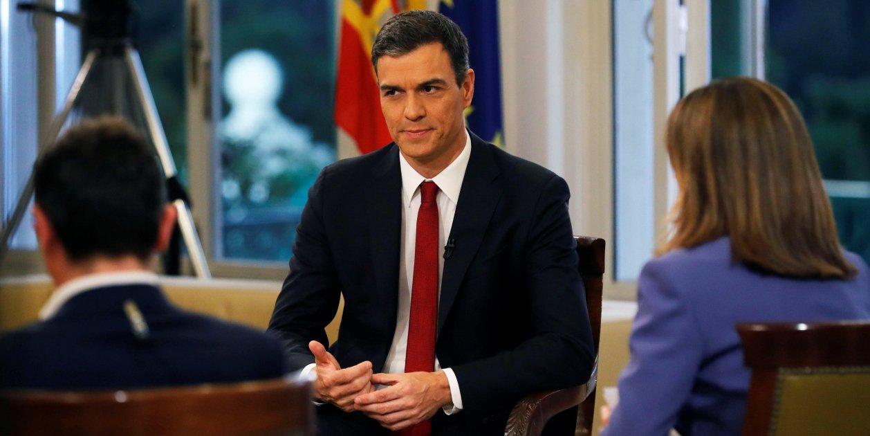 Entrevista Pedro Sanchez Tve - Efe