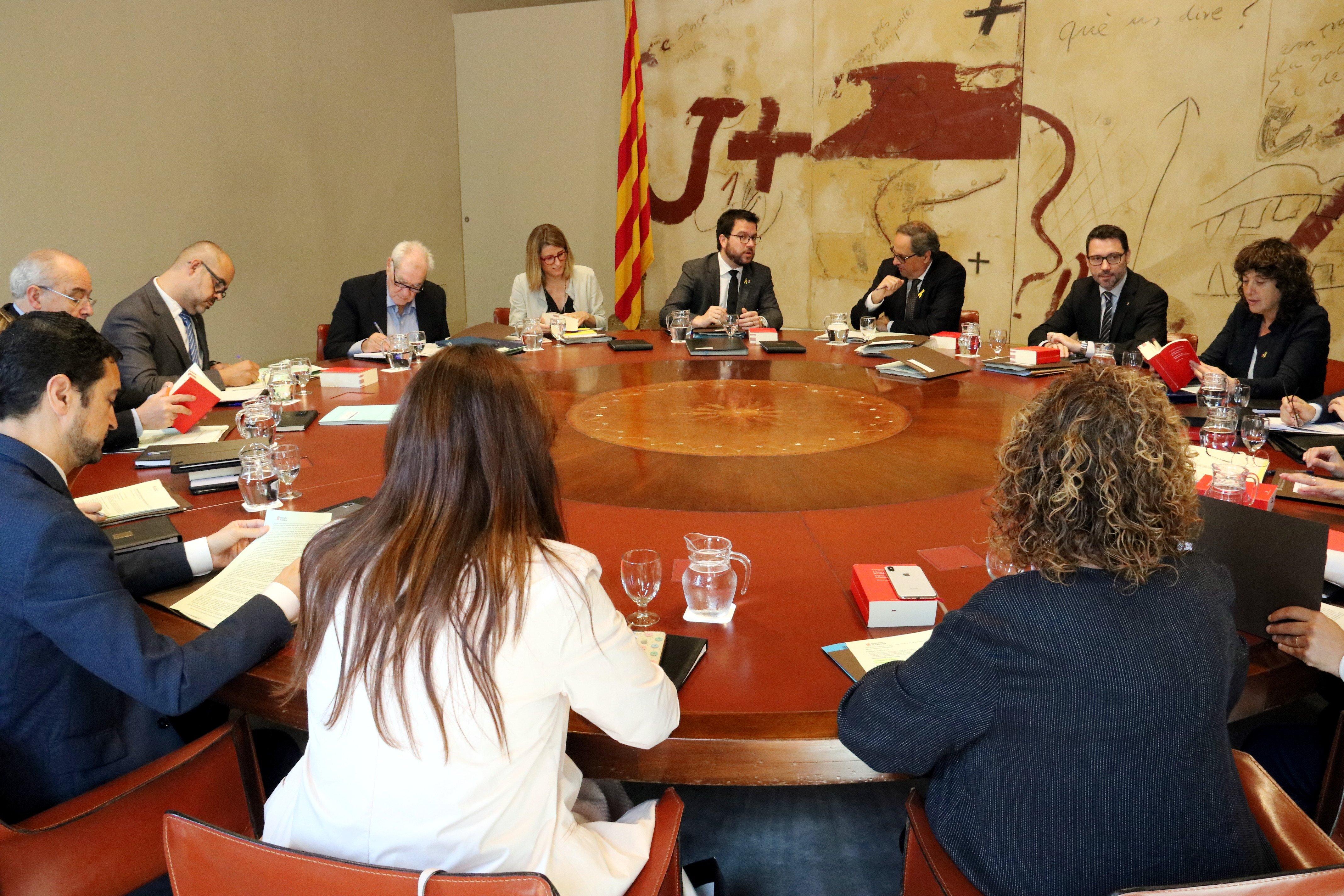 reunió consell executiu Govern ACN